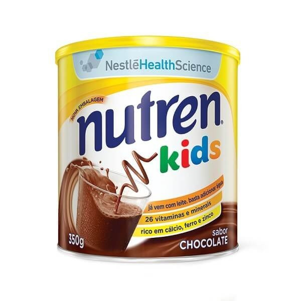 Nutren Kids chocolate com 350 gramas