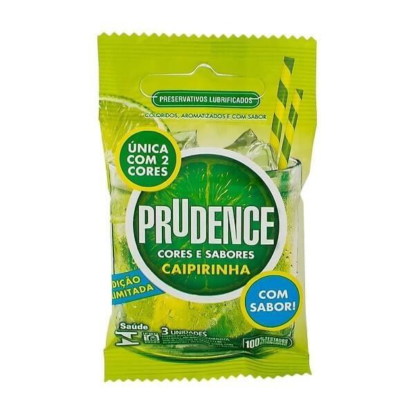 e61409c57 Preservativo Prudence Caipirinha com 3 Unidades