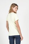 T-SHIRT GOLA V MODAL - LEMONADE