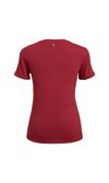 T-SHIRT GOLA CARECA LINHO - RED PEAR
