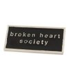 Pin Broken Heart Society