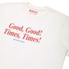 Good Good, Times Times Shirt Off White