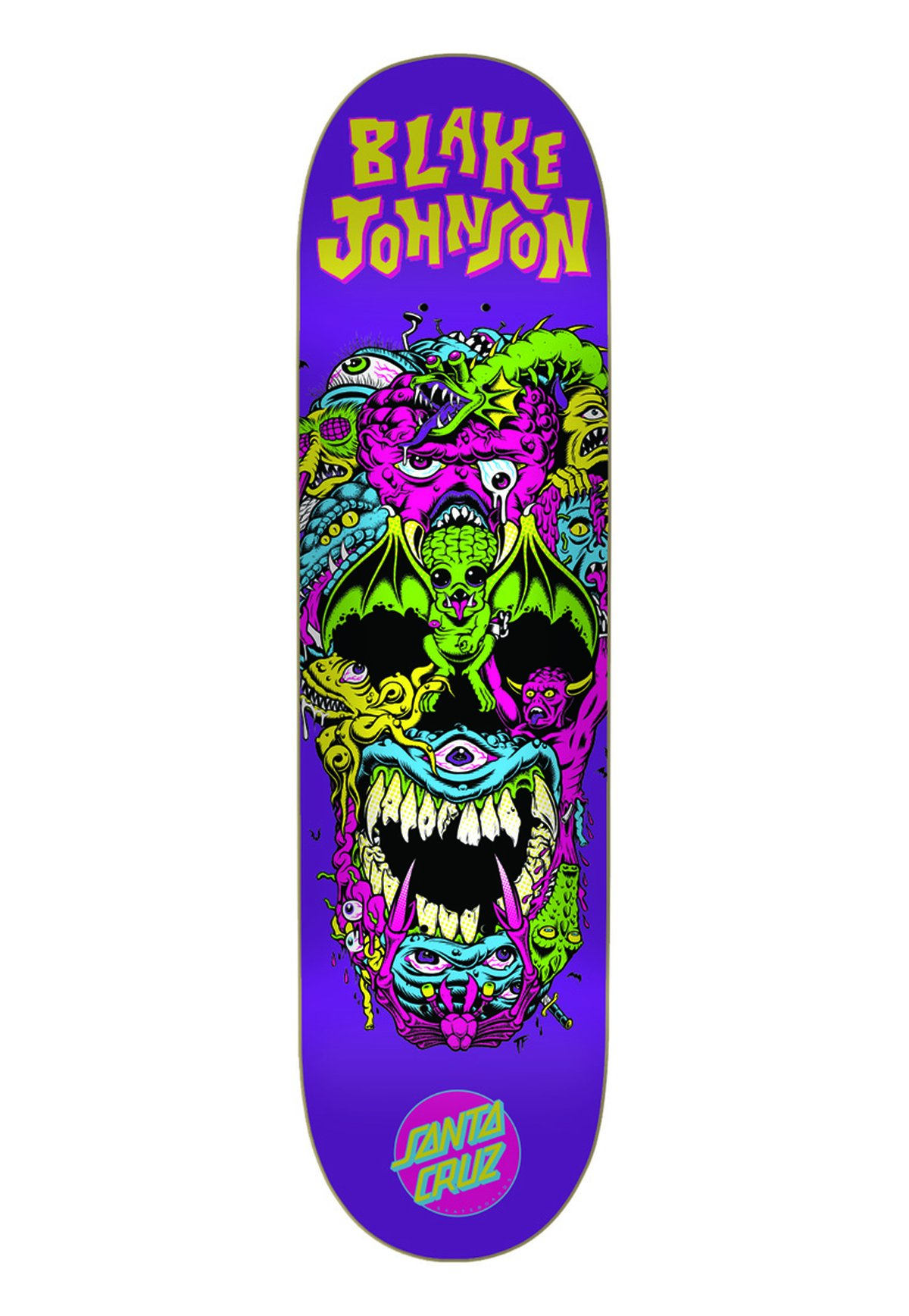 SHAPE SANTA CRUZ JOHNSON RAD SKULL 8.6