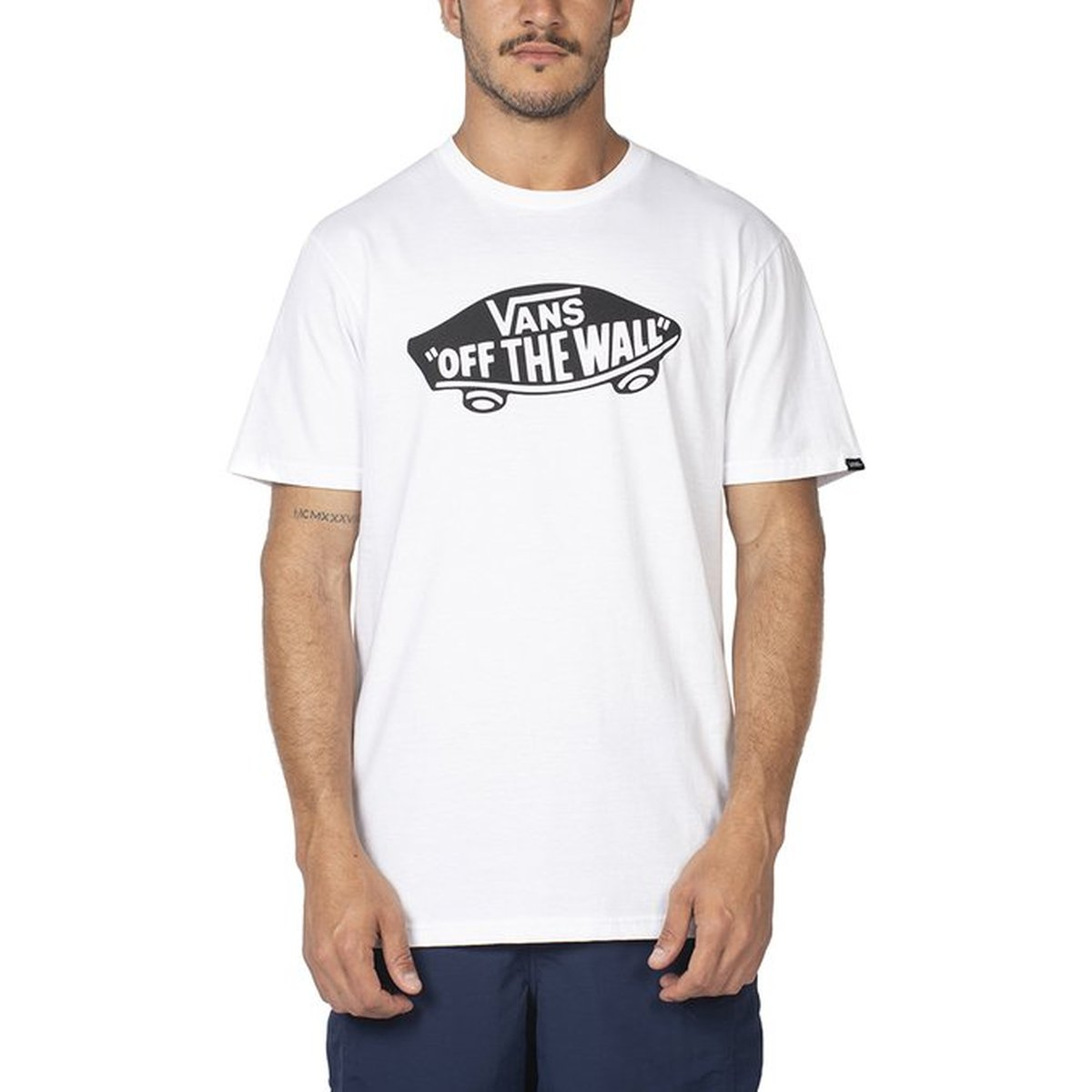 CAMISETA VANS OTW WHITE-BLACK