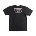 CAMISETA VANS MN FULL PATCH BACK SS BLACK-VANS COOL PINK