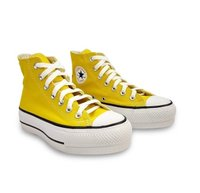 TÊNIS CONVERSE ALTO PLATAFORMA CT ALL STAR LIFT VIVO AMARELO