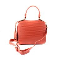 BOLSA CRISTOFOLI CROSS BODY TANGERINA