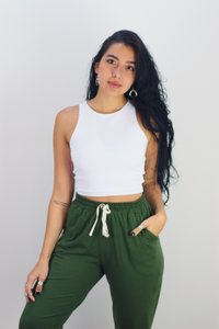 CROPPED CLASSIC BRANCO