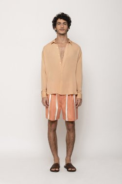 Camisa Oversized Coral
