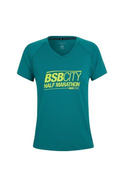 Camiseta Bsb City 2018 Mc Fem Verde