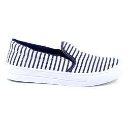 Tenis Tag Shoes Slip On Navy Azul