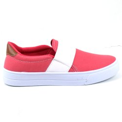 Tenis Tag Shoes Lona Elástico Rosa
