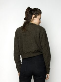 Docker Shield Cropped Verde