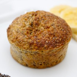 Muffin de Banana - 131kcal