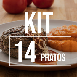 Kit 14 Pratos