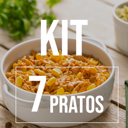 Kit 7 pratos