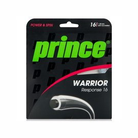 Set de corda Prince Warrior Response 1.30mm /12m – Cinza