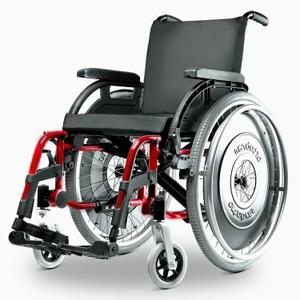 fde2ba5f6 PRONTA ENTREGA Cadeira de Rodas Alumínio K3 Ortobras Dobrável com Encosto  Tensionável