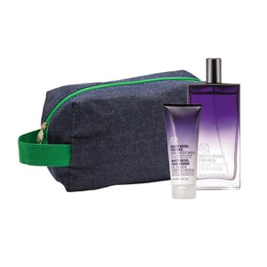 KIT WHITE MUSK® FOR MEN COM NÉCESSAIRE