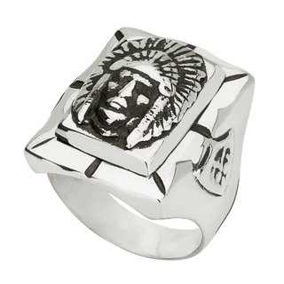 Anel - Mexican Indian 100% Prata | Ring – Mexican Indian 100% Silver