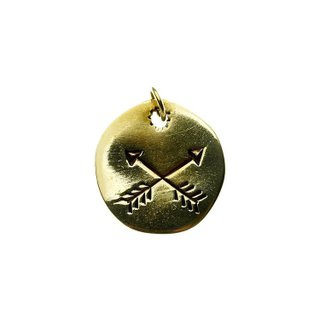 Pingente - Crossed Arrows | Crossed Arrows Pendant