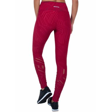 Legging Essencial Love Apple Jacquard