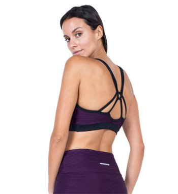 Top Runner Purple Beat Jacquard