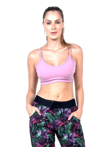 Top Basic pink Supplex