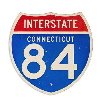 Placa Interstate 84