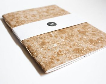 Caderno Capa Kraft A5 - Miolo Off white