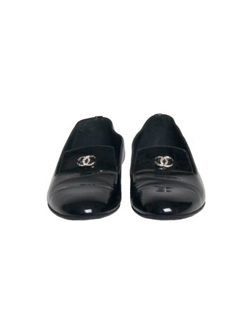 Loafer Chanel Patent Verniz Preto
