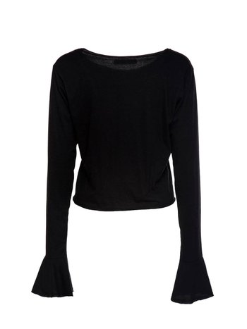 CROPPED FLOW BLACK