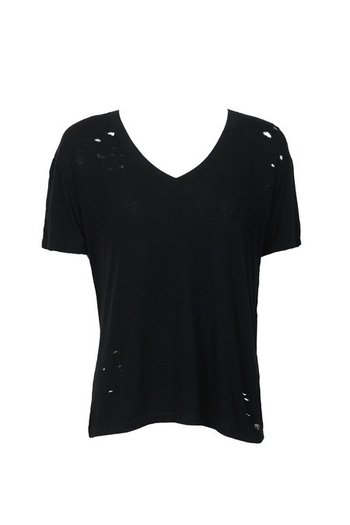 T-Shirt Destroyed Black