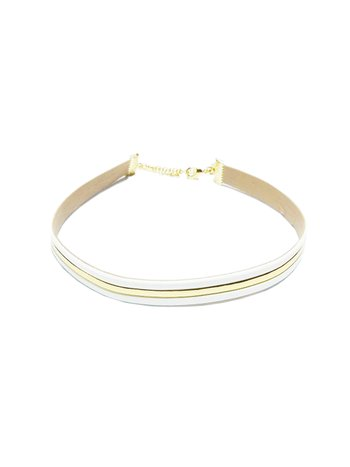 CHOKER GOLDEN STRIPE