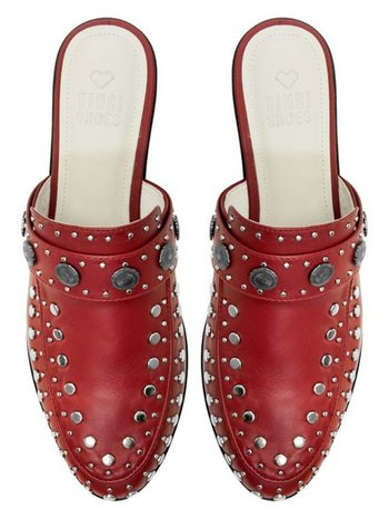 BETA RED STUDDED