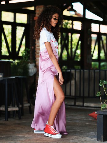 Slipdress Rose
