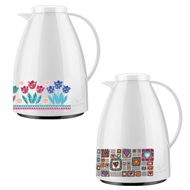 Bule Viena Decorado Patchwork Tulip/Patchwork Love 0,75L