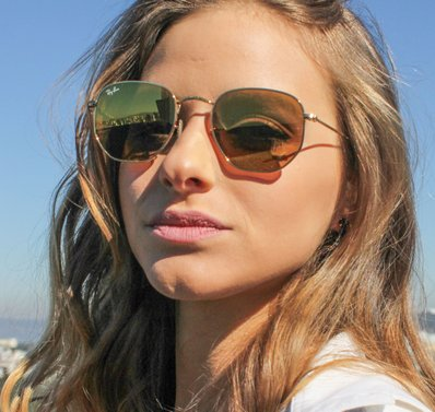 Óculos de Sol Ray Ban Hexagonal RB3548NL-001/93 51