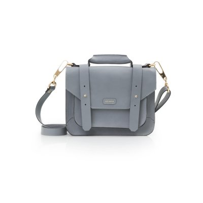 PASTA SATCHEL MINI CINZA
