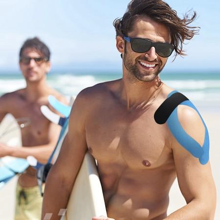 8cc4c47870679 Fita Kinesio Adesiva TMax Kinesiology Taping 5m para Reabilitação Muscular