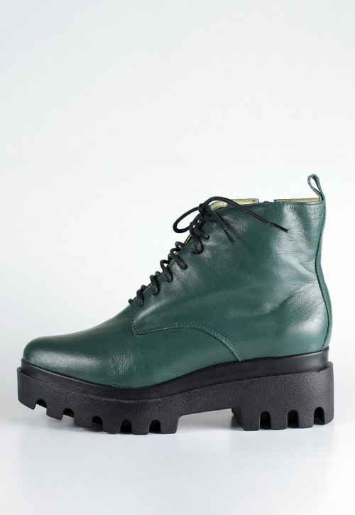 CRYSTAL boots - verde