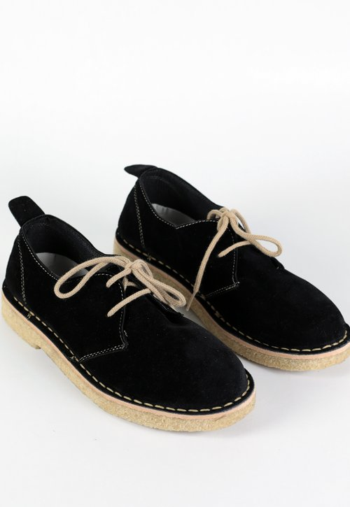 DROVER LOW DESERT  - Black (vegan)