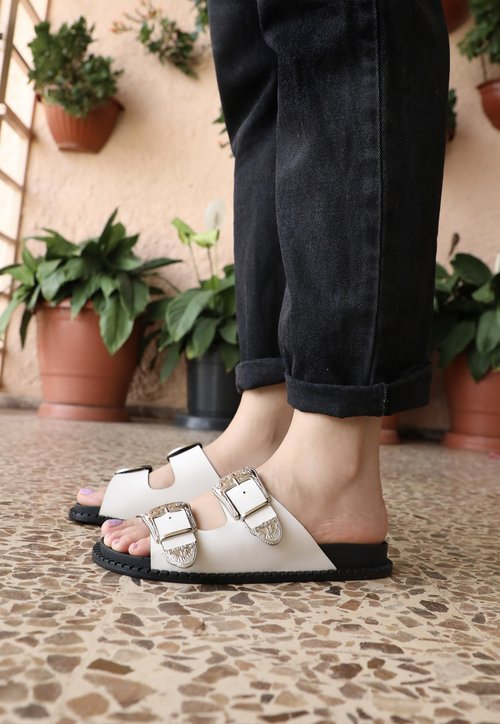 BIRKEN west - off white (vegan)