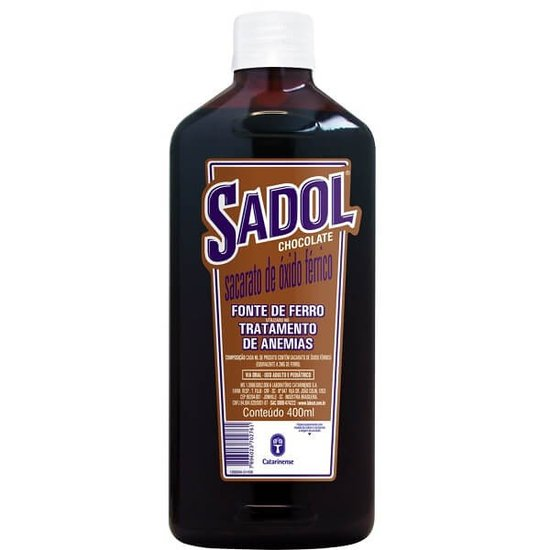 Sadol chocolate com 400ml