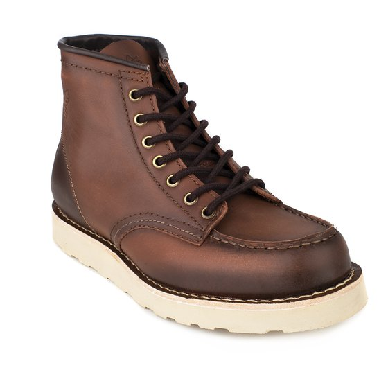 Bota MOC TOE Wild Cat Black Boots - DESTROYER Pinhão
