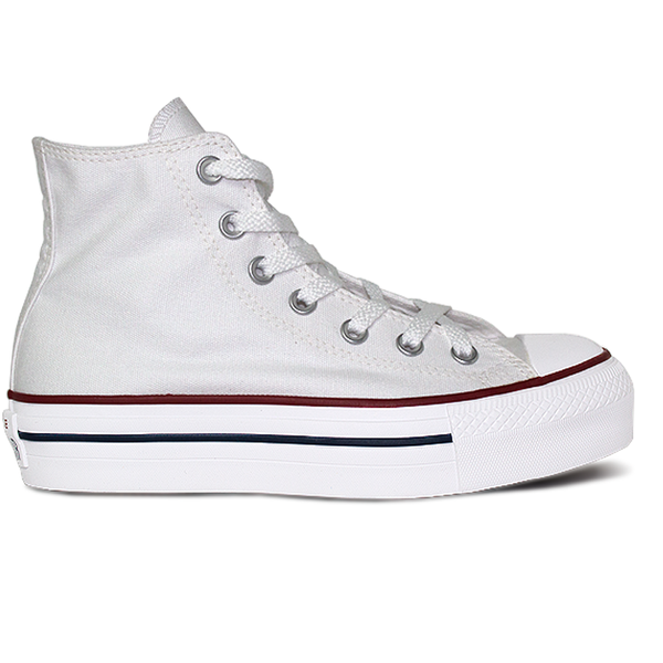 TÊNIS CONVERSE ALTO PLATAFORMA CT ALL STAR BRANCO