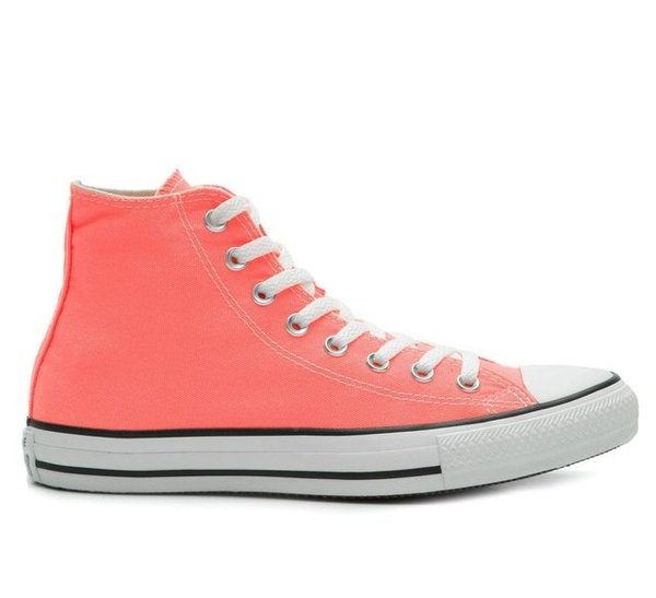 TÊNIS CONVERSE ALTO CT ALL STAR SEASONAL FLUOR LARANJA