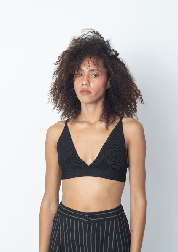 TOP HAIGHT TRICOT LINGERIE PRETO