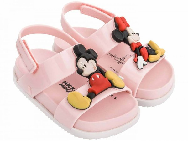 Mini Melissa Cosmic Sandal + Disney Twins