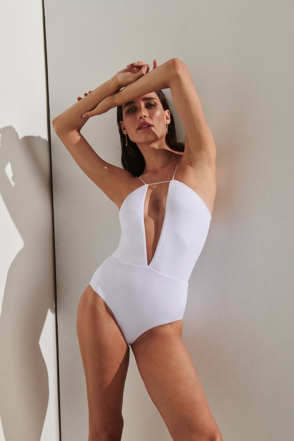 Foto do produto Body Formentera Branco | Formentera One-Piece White